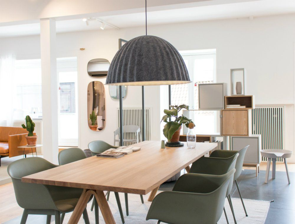 An Inside View To Muuto Headquarters Pendant Lamps Under