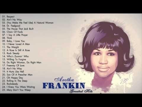 Aretha Franklin Greatest Hits (Full Album)   The Best Of Aretha ...