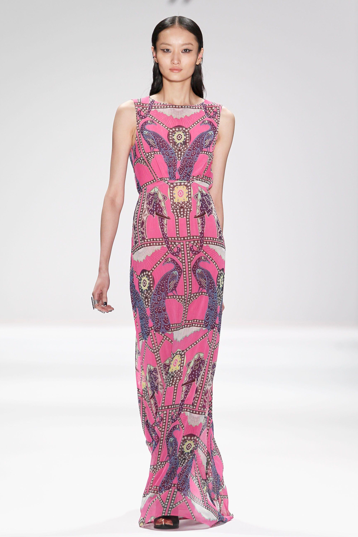 Patterned up in pink by @Maridon Bradley Hoffman #MBFW @Eva S.\'N Low ...