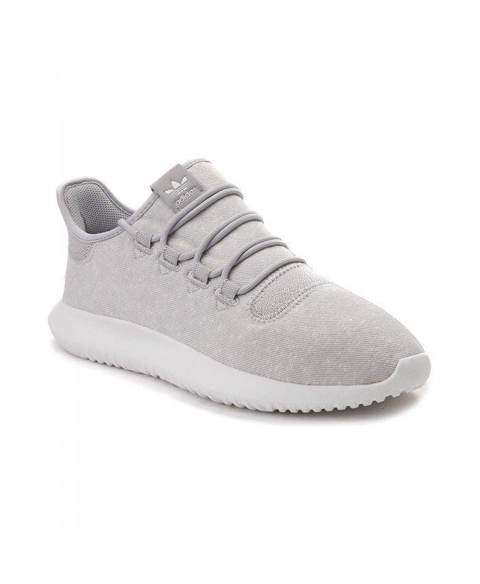 Adidas Mens Tubular Grey White Athletic Shoes | White athletic ...