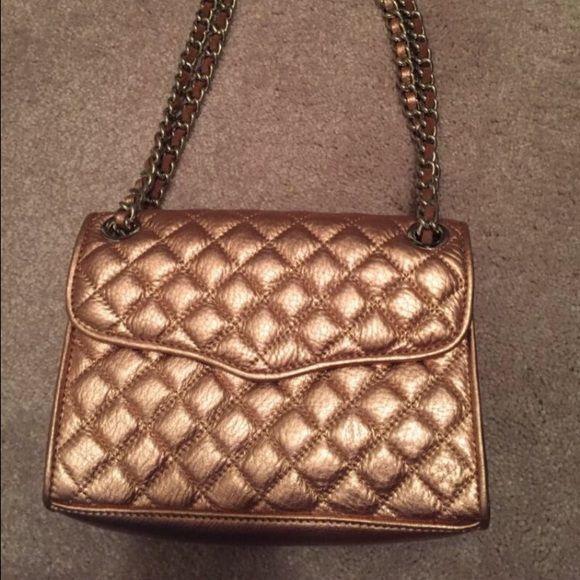 Rebecca Minkoff Designer Rose Gold Handbag 100% Leather. Brand New. Never Used. Price Negotiable. Rebecca Minkoff Bags Clutches & Wristlets