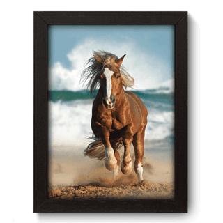 Quadro Decorativo - Cavalo - 086qds