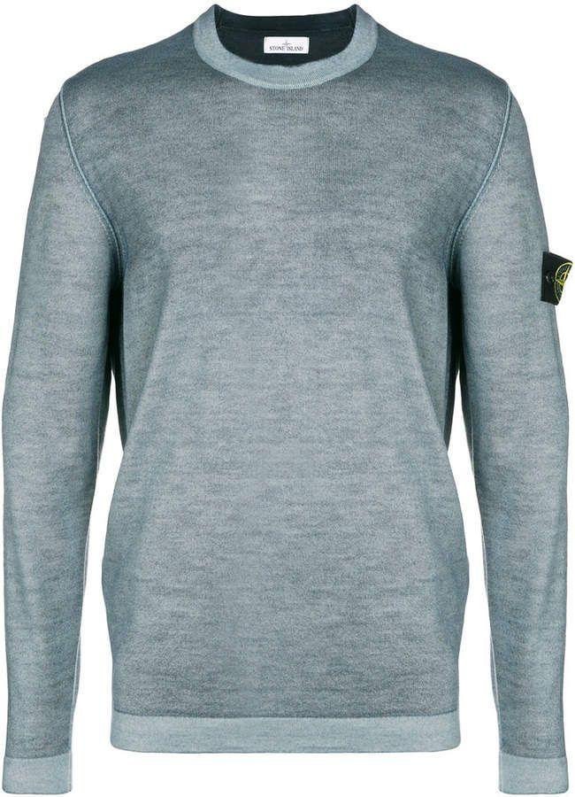 Stone Island Classic Sweater Sweaters Blue Sweaters Stone Island