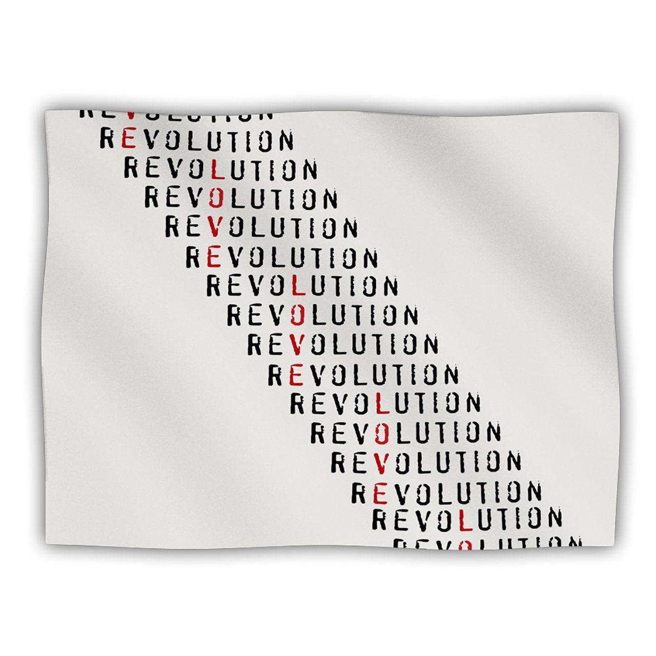 Kess InHouse Skye Zambrana 'Revolution' Pet Dog Blanket