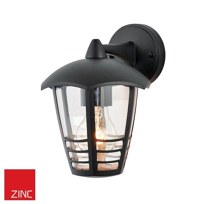Single light outdoor wall light fitting