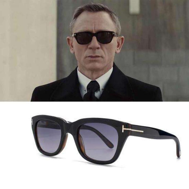 b253c211cf TSHING James Bond Sunglasses TR90 Polarized Sunglasses Men Brand Designer  Men s Super Star Square Celebrity Driving Sun Glasses