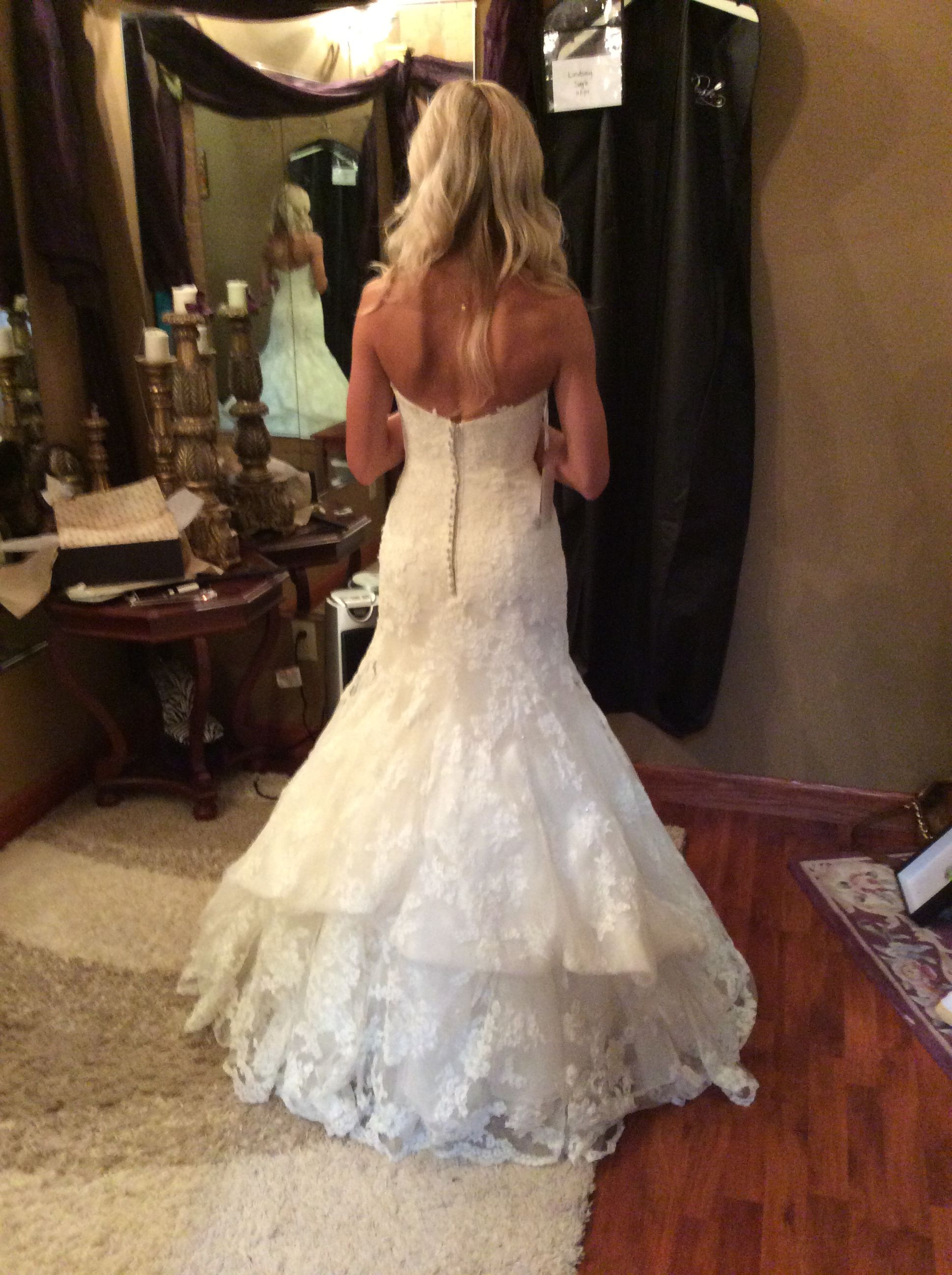 French bustle | Wedding dress bustle, Wedding gown bustle