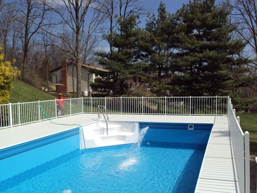 Gallery Photos Of Various Above Ground Pools Installed By Pool It Above Ground Pool Steps Pool Steps In Ground Pools