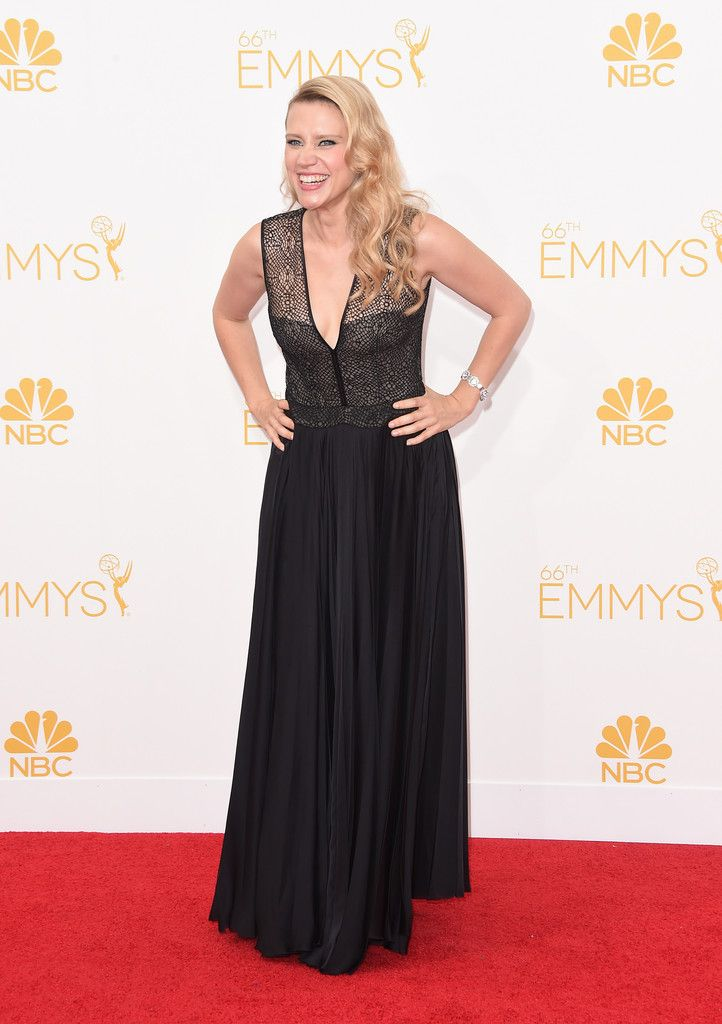 Kate McKinnon Photos Photos: Arrivals at the 66th Annual Primetime Emmy Awards —…