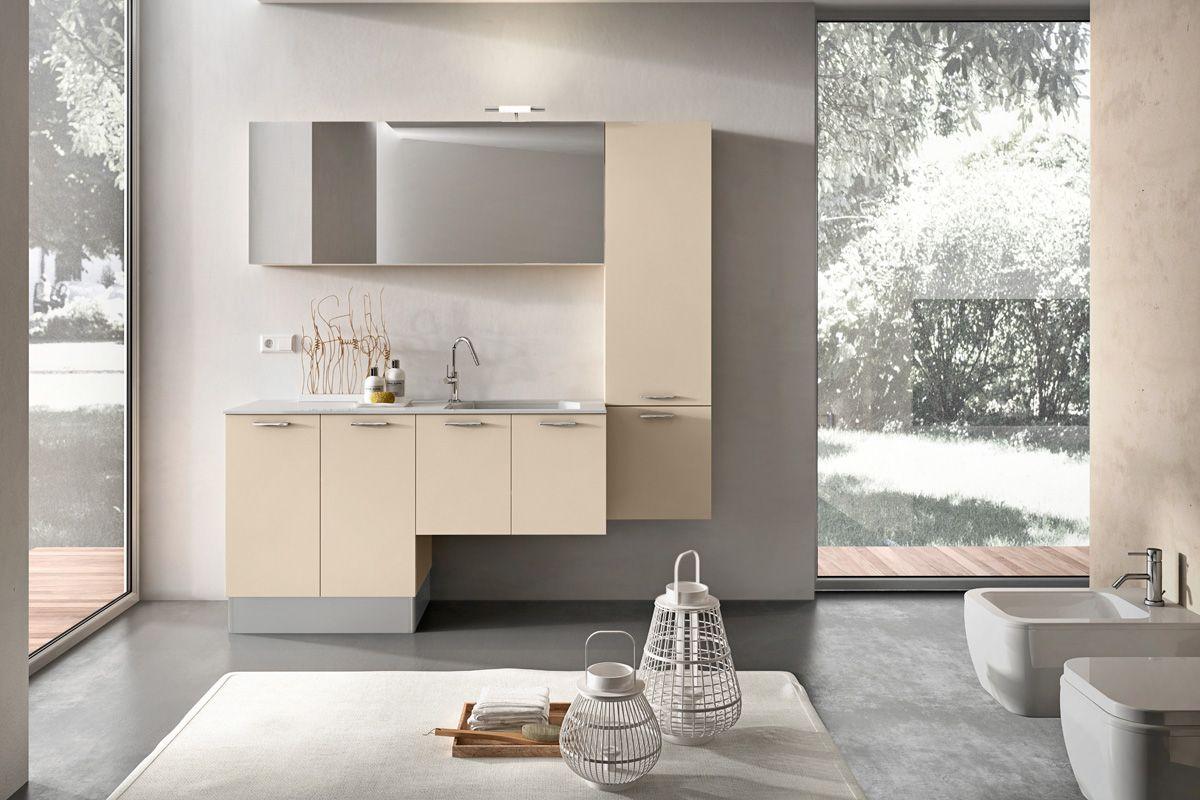 Soluzioni lavanderia in bagno: mobili bagno lavatrice avienix for ...