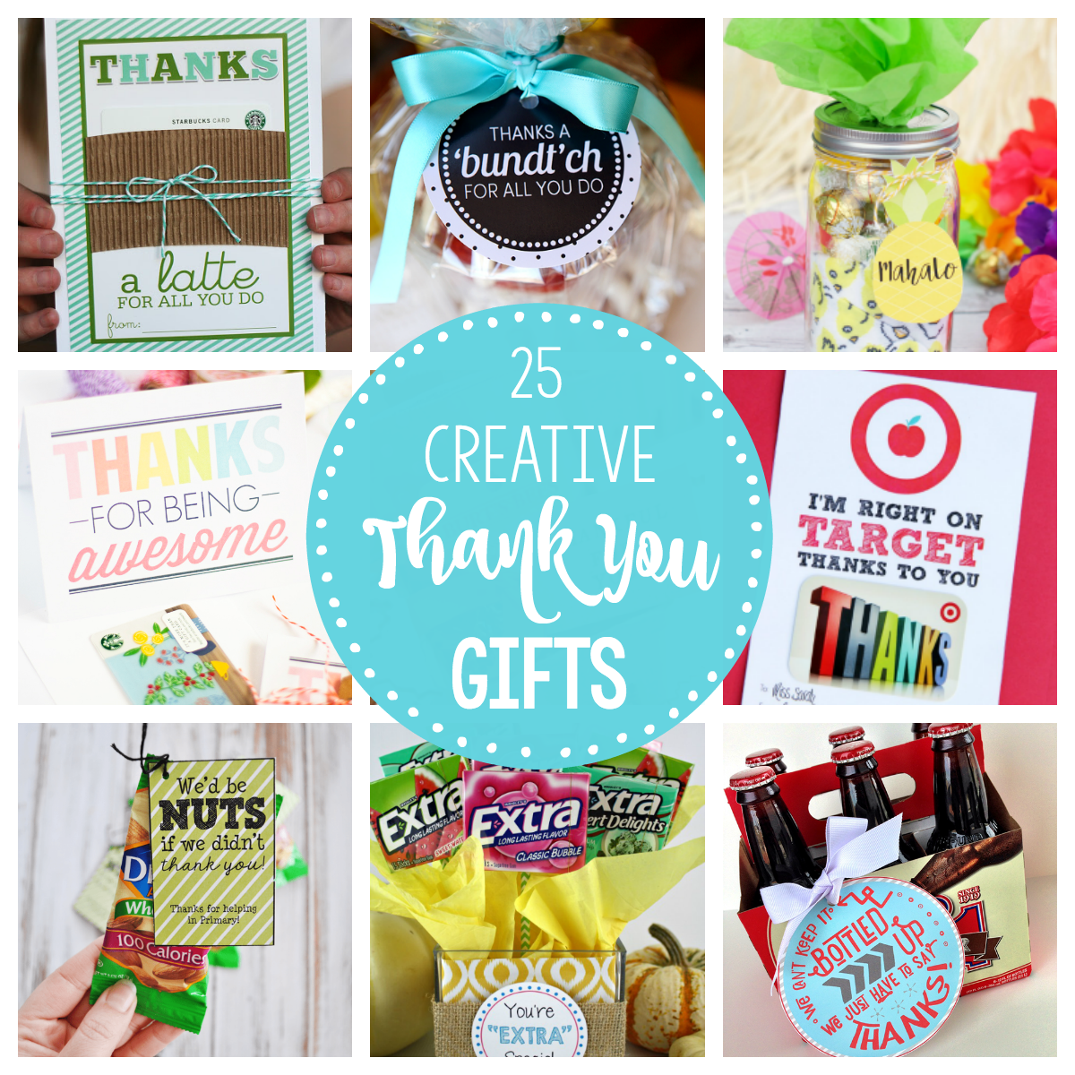 25 Creative Unique Thank You Gifts Thank You Gift Baskets Thank You Gifts Employee Appreciation Gifts
