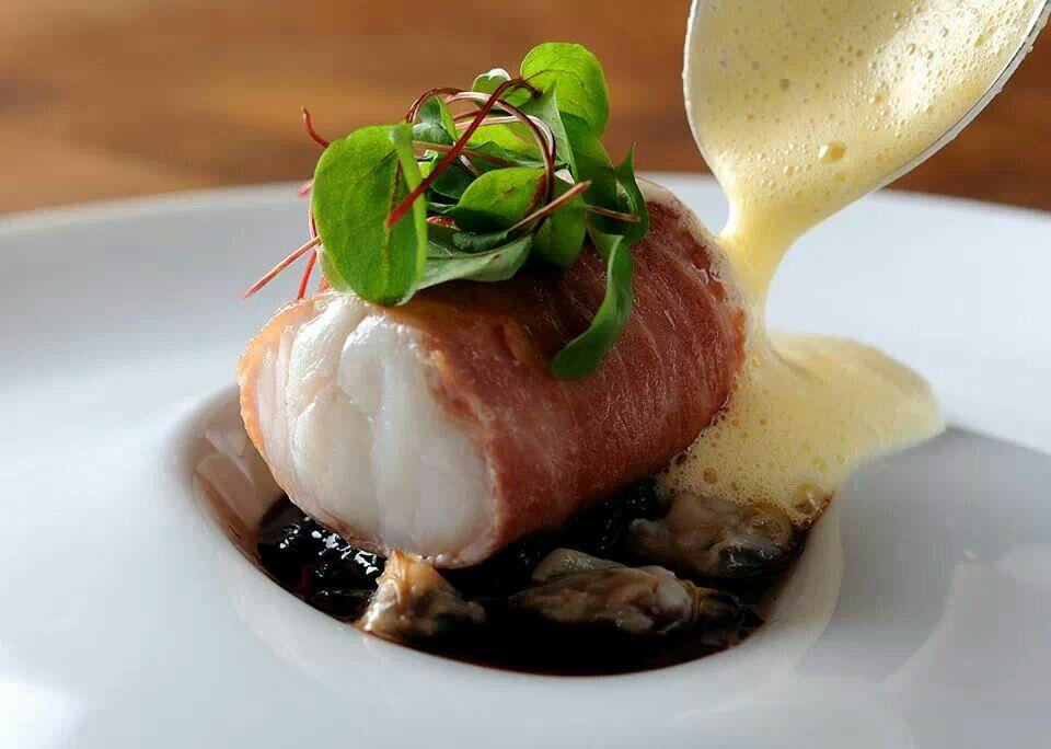 Monkfish recipe food drink pinterest monkfish for Monkfish and parma ham recipe