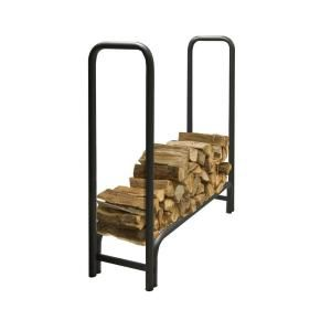 Pleasant Hearth 4 Ft Heavy Duty Firewood Rack Ls932 48 The Home