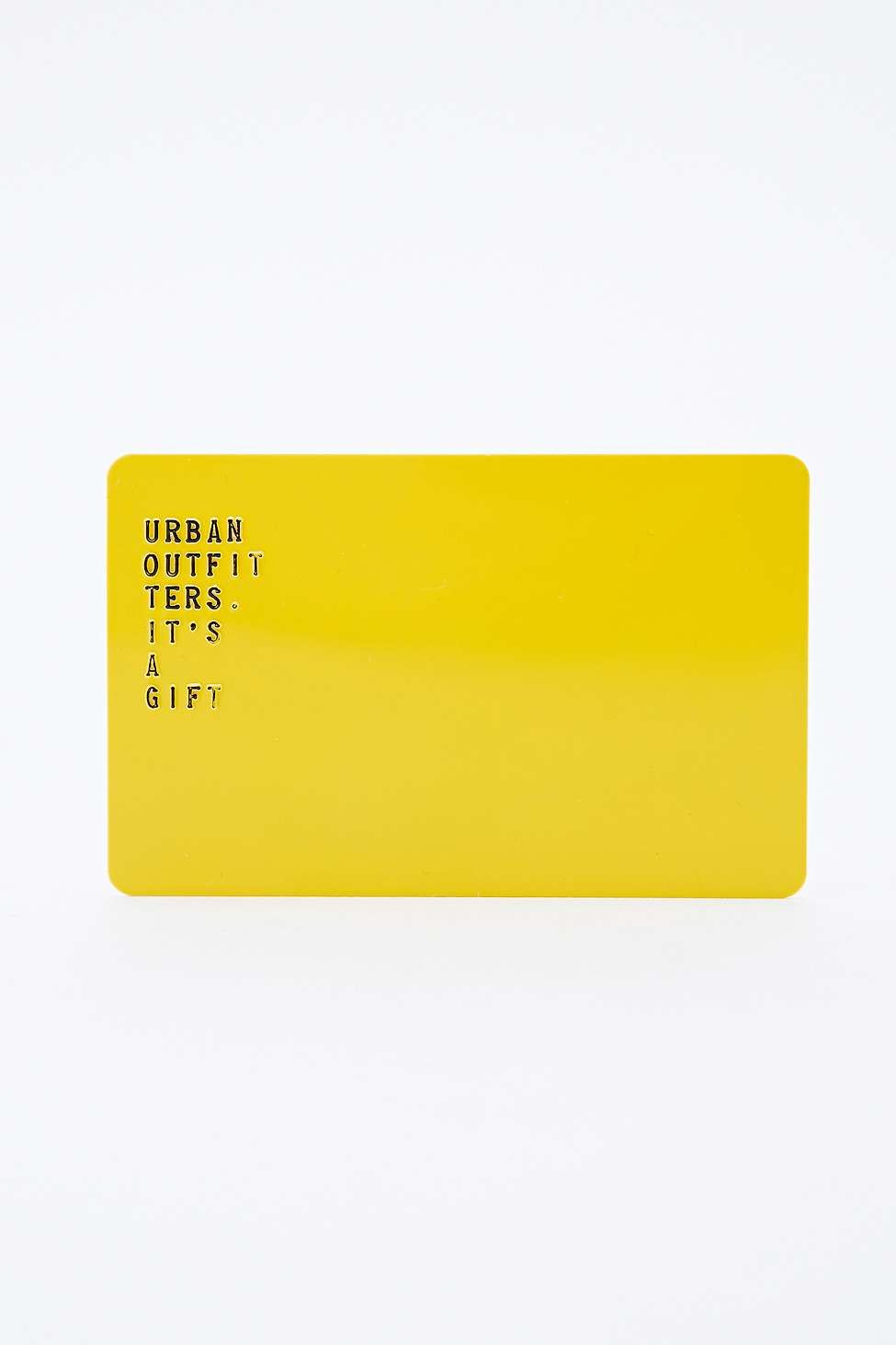 Gift card by post urban outfitters gift card gift card