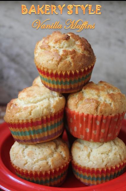 Bäckerei-Art-Vanille-Muffin-Rezept