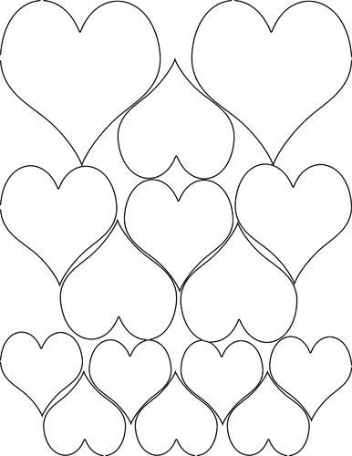 Hearts Hearts Hearts Punto Croce