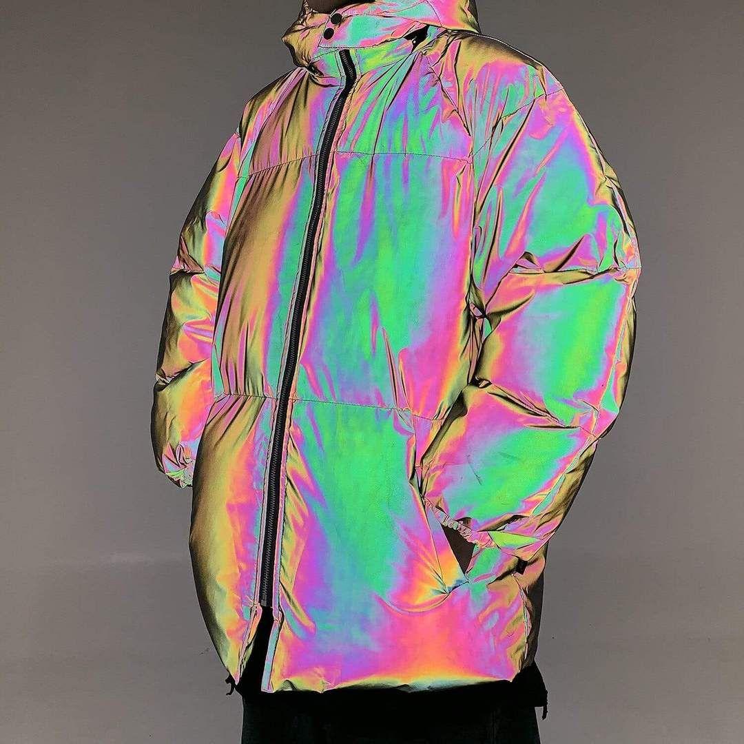 Reflective Jacket Parka In 2021 Reflective Jacket Fashion Winter Jackets [ 1080 x 1080 Pixel ]