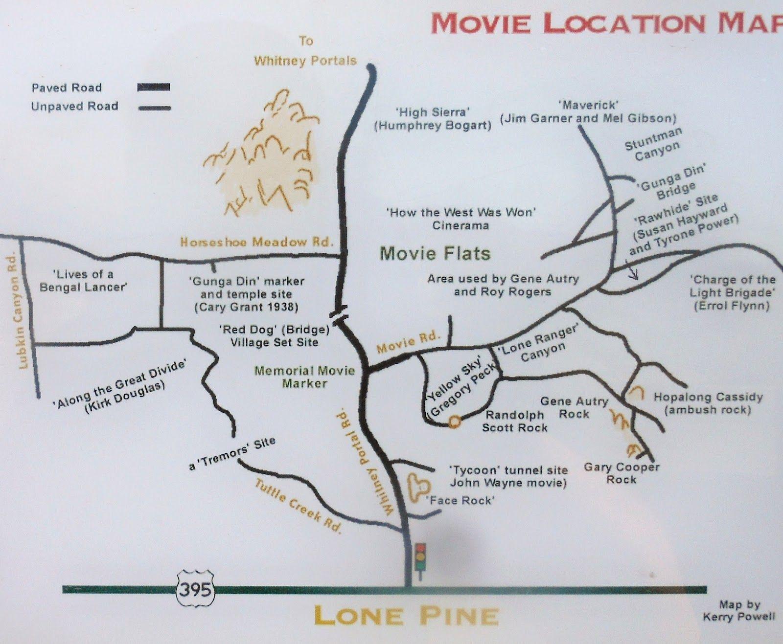 Lone Pine Ca Map Alabama Hills Lone Pine Ca Face Rock