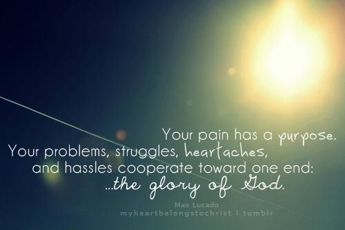 Try To Come Out Of The Trials So That God Gets The Glory