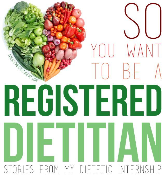 Reflections From The Road To Becoming A Registered Dietitian