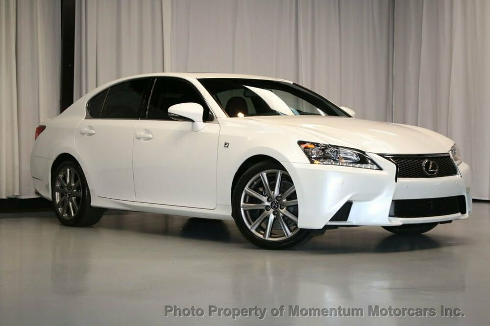 2013 Lexus GS 350 4dr Sedan RWD 4dr Sedan RWD F SPORT WITH