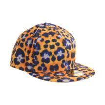 17b99a1572c Kenzo X New Era Leopard Print Fitted Baseball Cap