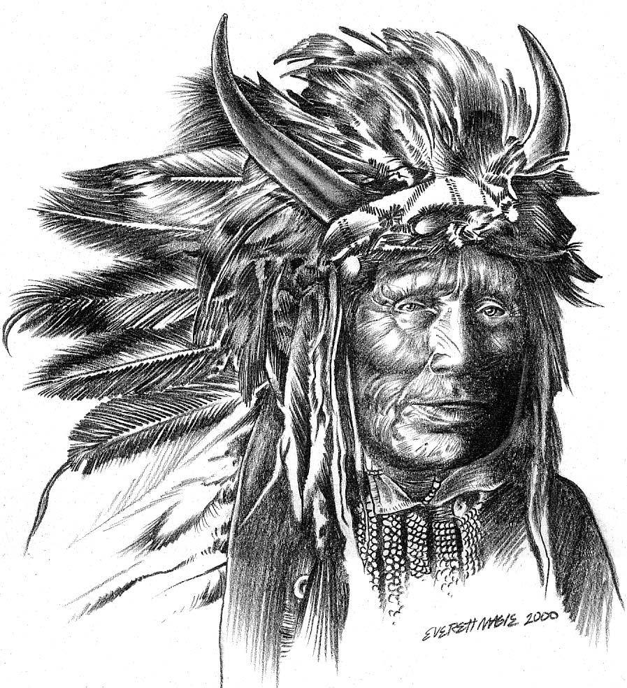 Indian Chief by Xagamus.deviantart.com on @deviantART ...