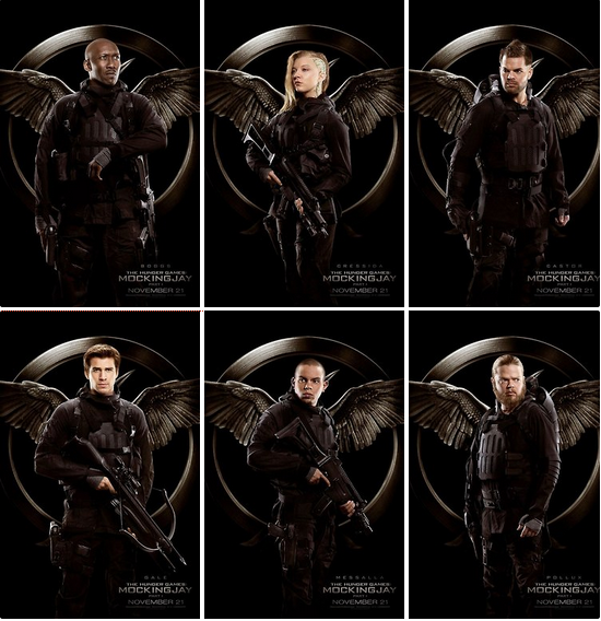 All Of The New Mockingjay Part 1 Rebels Posters. Notice ...