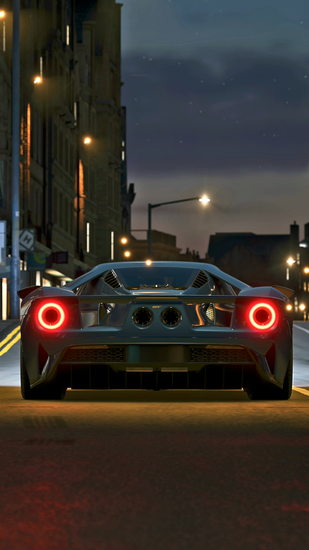 Night Time Ford Gt 1920 X 1080 Active Wallpaper Desktop Background Images Ford Gt