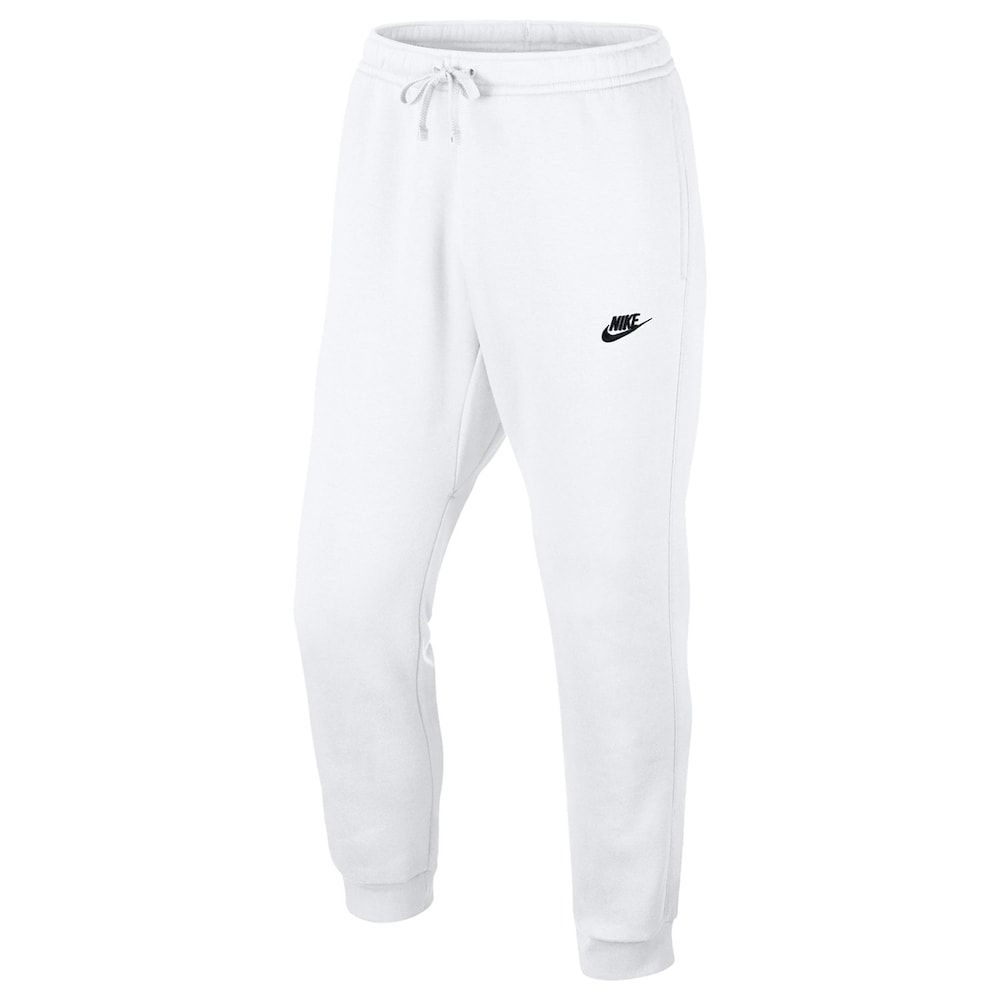 Men's Nike Club Fleece Joggers in 2020 | Nike outfits, White