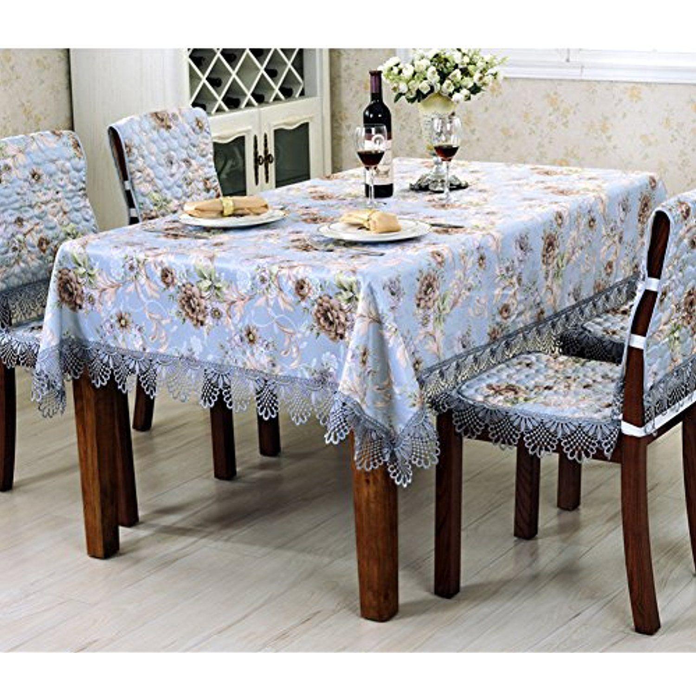 Modern Table Cloth Living Room Jacquard Coffee Tv Counter Table