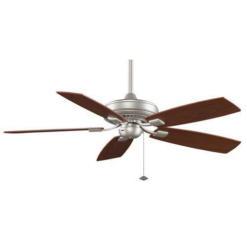Edgewood Decorative Satin Nickel 52 Inch Energy Star Ceiling Fan