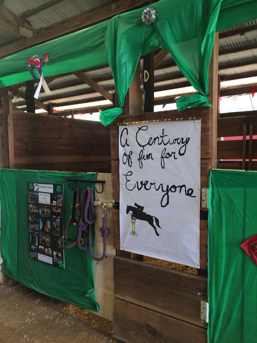 4h Horse Stall Decorations With Images Horse Stall Decorations