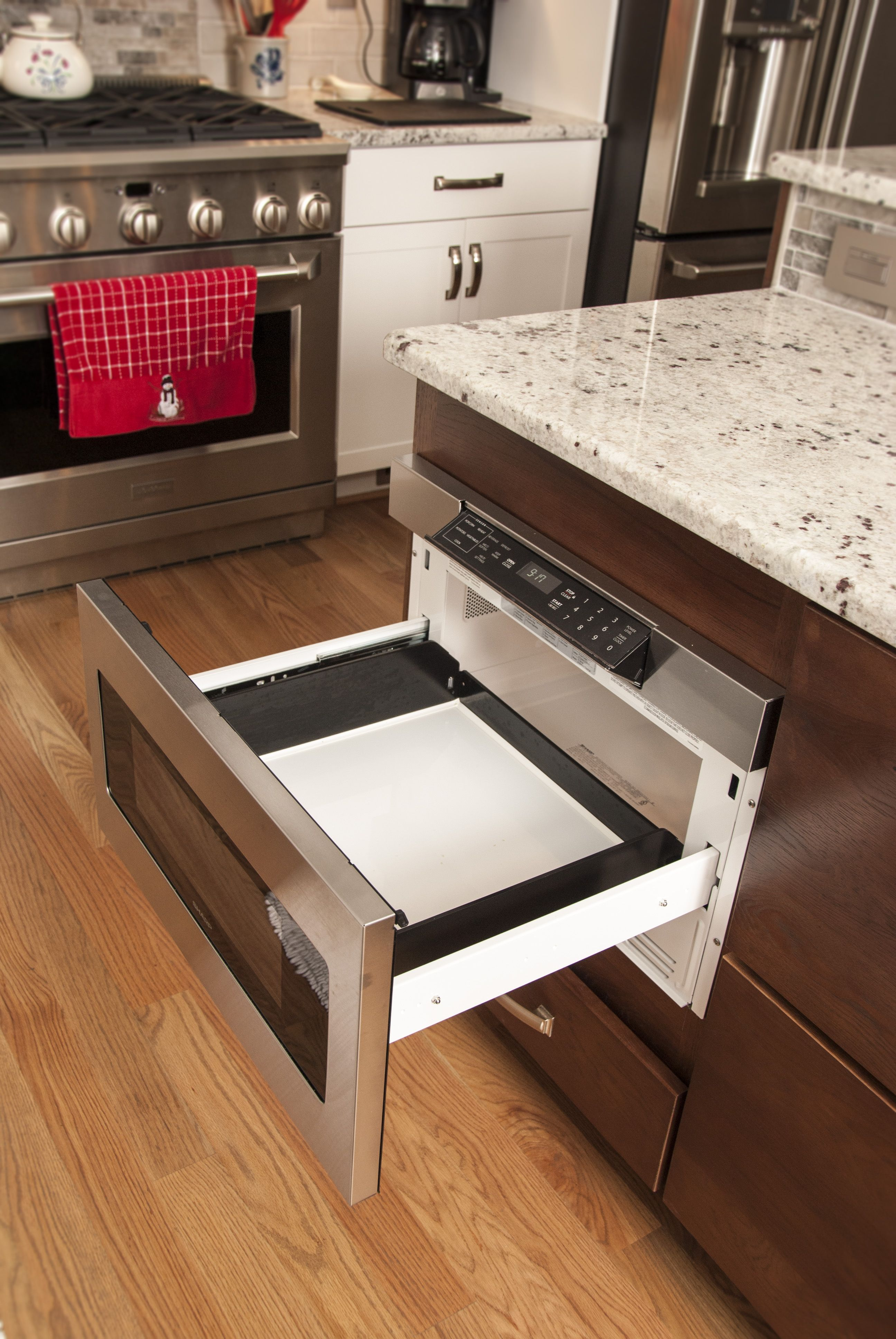 Best Modern Kitchen Pull Out Microwave Built In Microwave 400 x 300