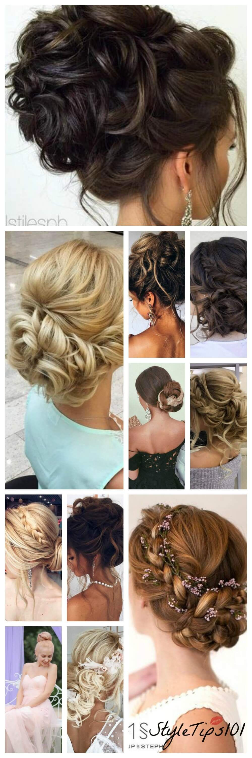 Gorgeous prom hairstyles you can copy hair pinterest prom