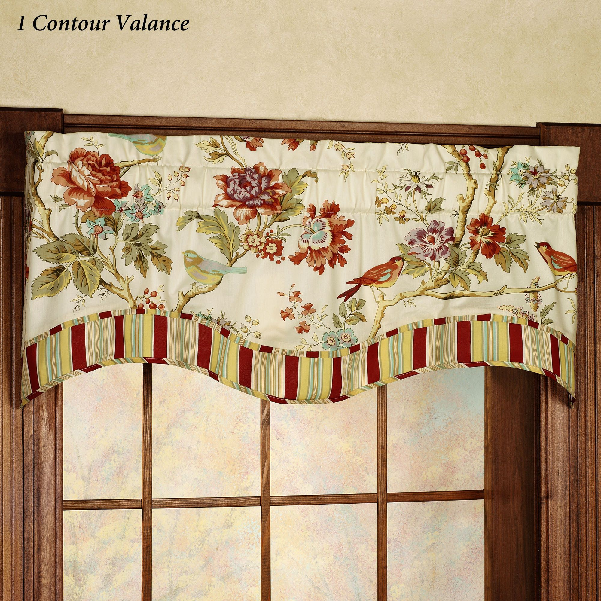 waverly com window walmart floral ip engagement valances valance