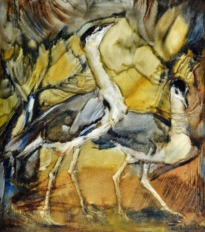 Waterbirds. William Boissevain