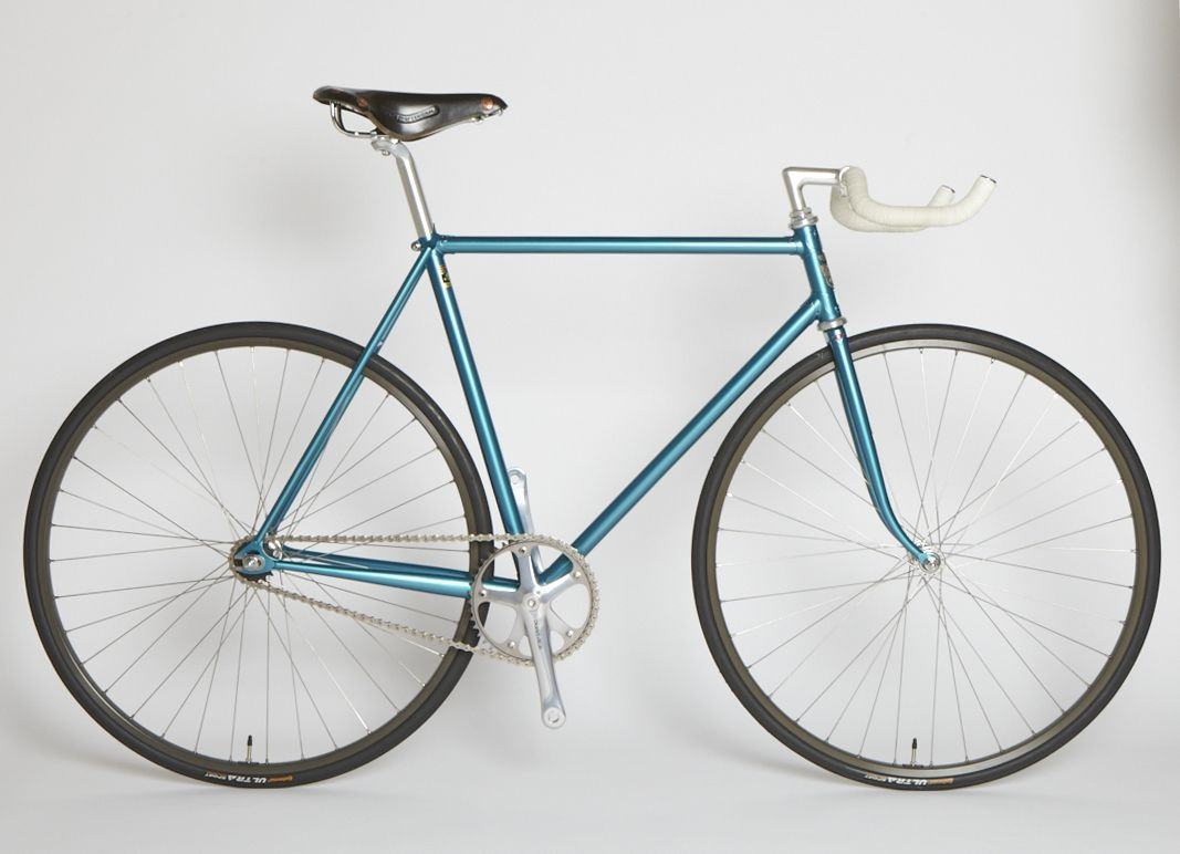 Feather Cycles Bullhorn Single Speed Beauty City Bike