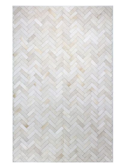 Chevron Patch Hand Stitched Rug By Bashian Rugs At Gilt