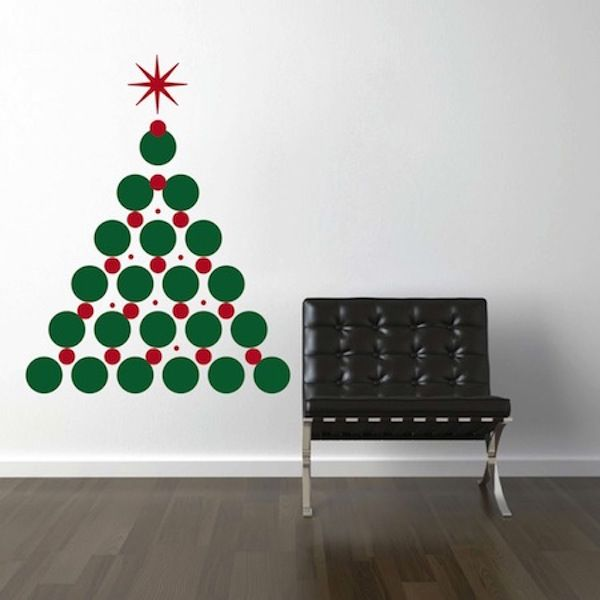 Christmas Tree Wall Decal Wall decals Christmas tree and Walls
