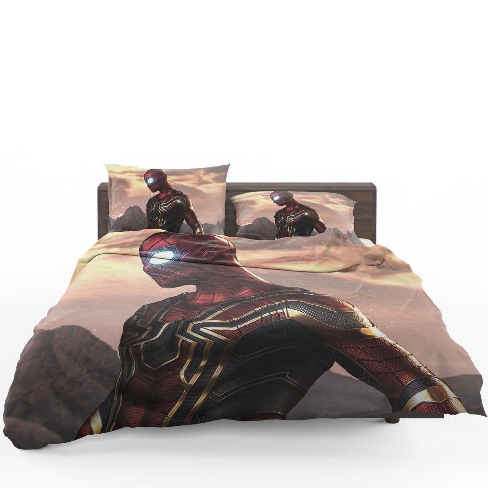 Spider Man Iron Spider Marvel Avengers Infinity War Bedding Set Bedding Set Avengers Infinity War Bed
