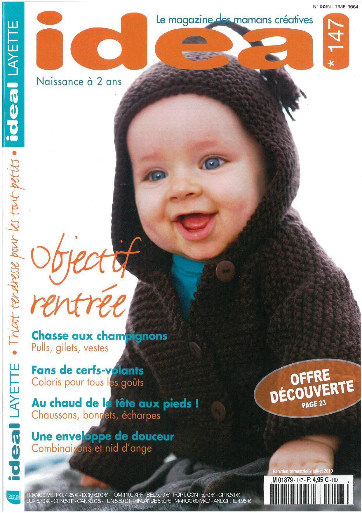 tricot enfant magazine