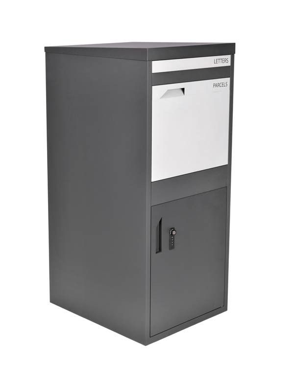 Extra Large Front Access Dark Grey Smart Parcel Box