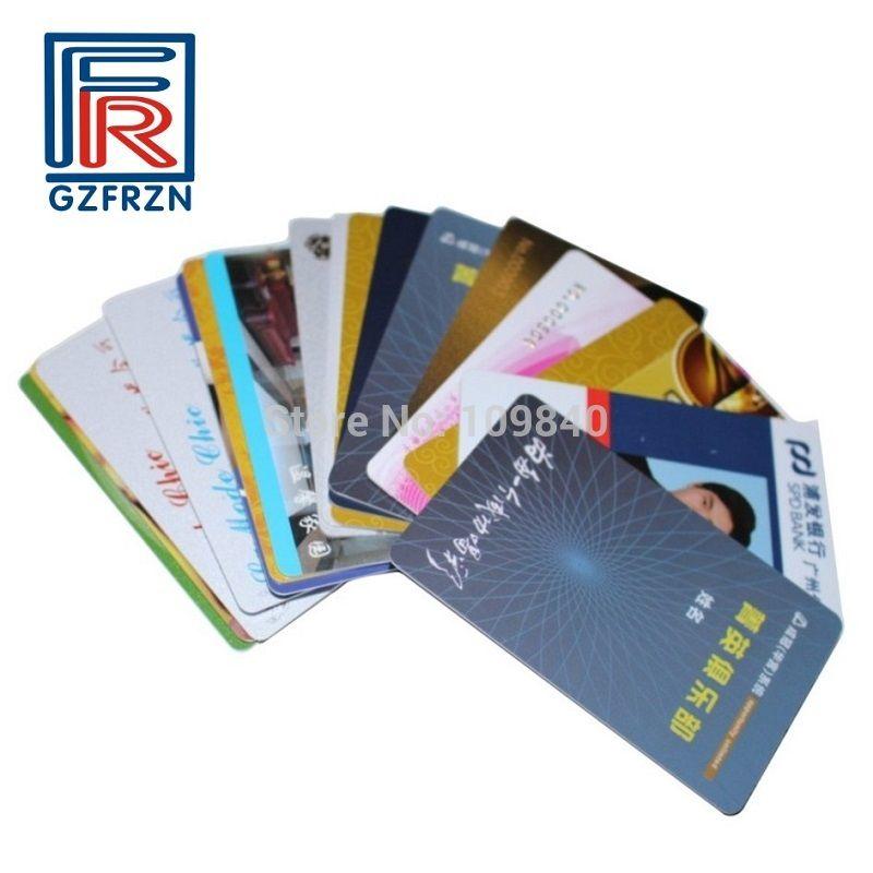 High quality printing 1356mhz rfid card 1000pcs with 1k