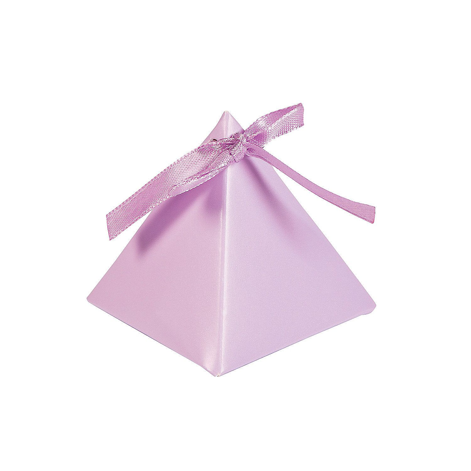 Lilac Triangle Favor Boxes | Favors