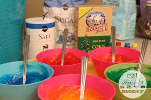 corn starch finger paint recipe