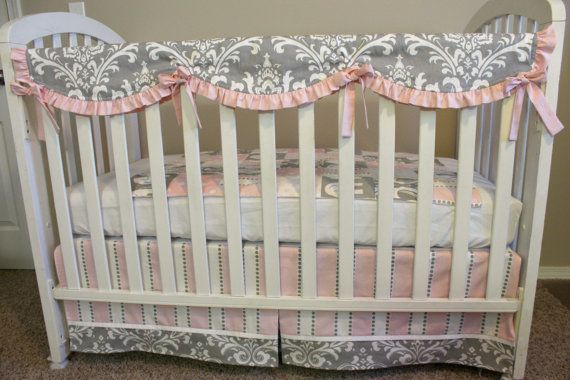 Custom Crib Teething Guard Crib Rail Cover For Bumperless Bedding Ruffled Crib Teething Guard Crib Rail Cover Cribs