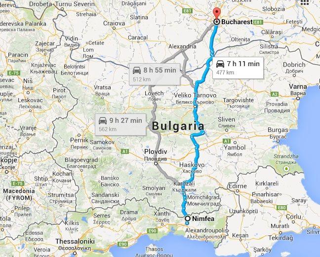 Drumul Cel Mai Scurt Spre Grecia Grecia Călătorii și București