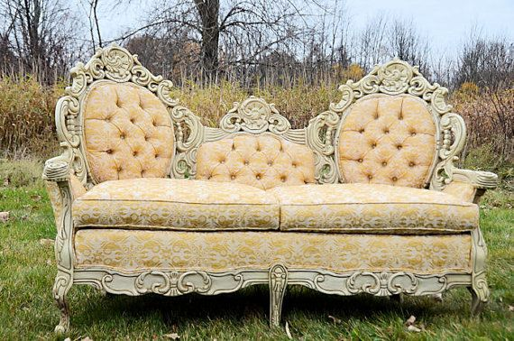 Victorian Furniture (love seat and chair)
