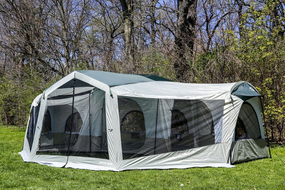 Tahoe Gear Carson 3-Season 14 Person Large Family Cabin Tent in Sporting Goods & Tahoe Gear Carson 3-Season 14 Person Large Family Cabin Tent | TGT ...